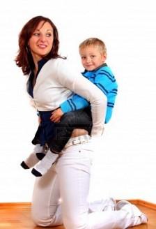 cum să slăbești mama singură